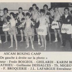 Boxe thaïlandaise (ASCAM Thai Boxing  Clermont)