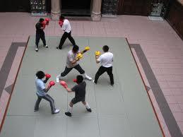 Test combat