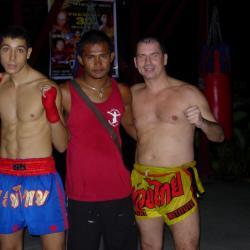 Victoire de mon stagiaire à Kho Phee Phee Island combat