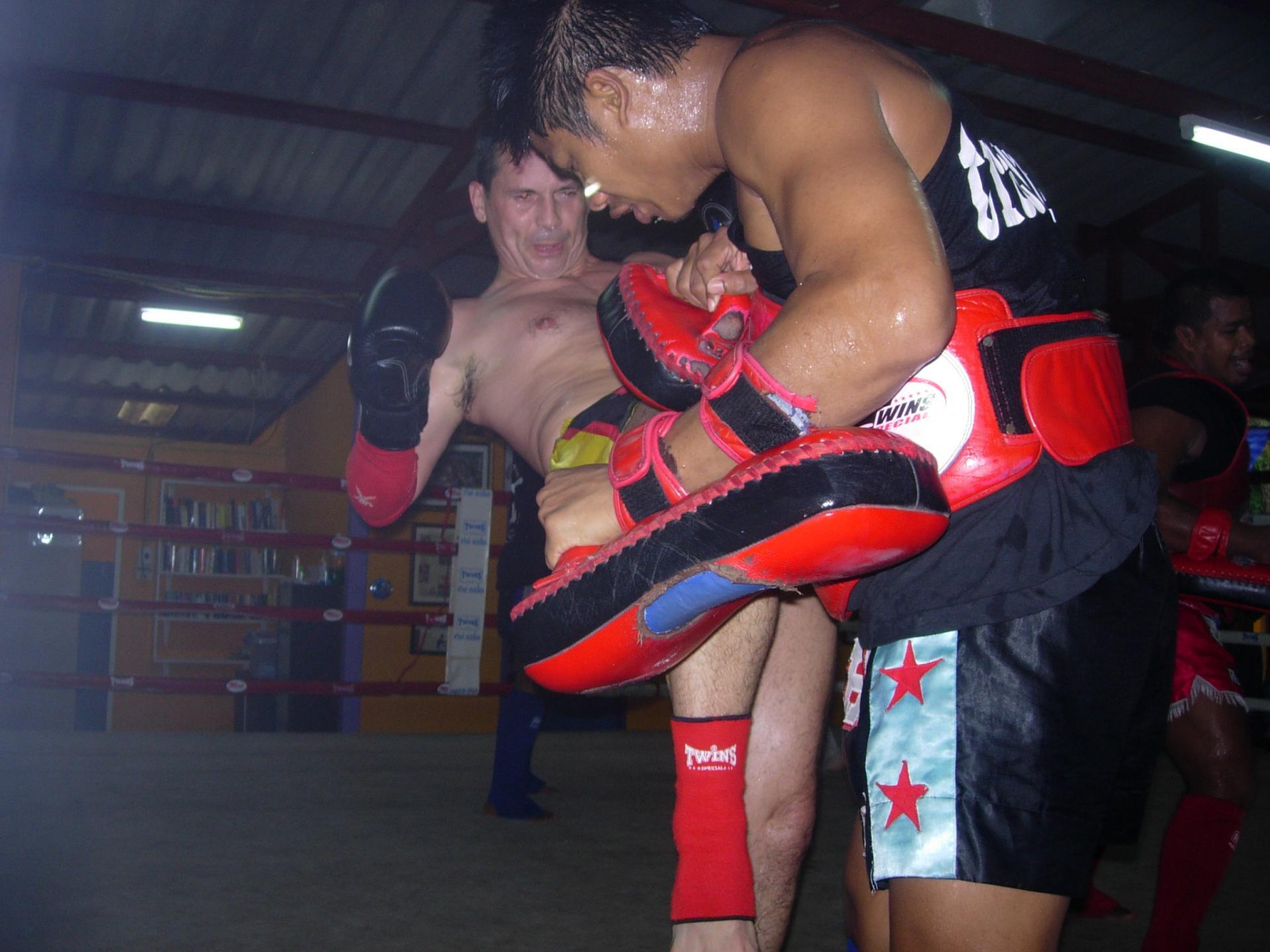 Préparation combat (Rawai Muaythai Camp)