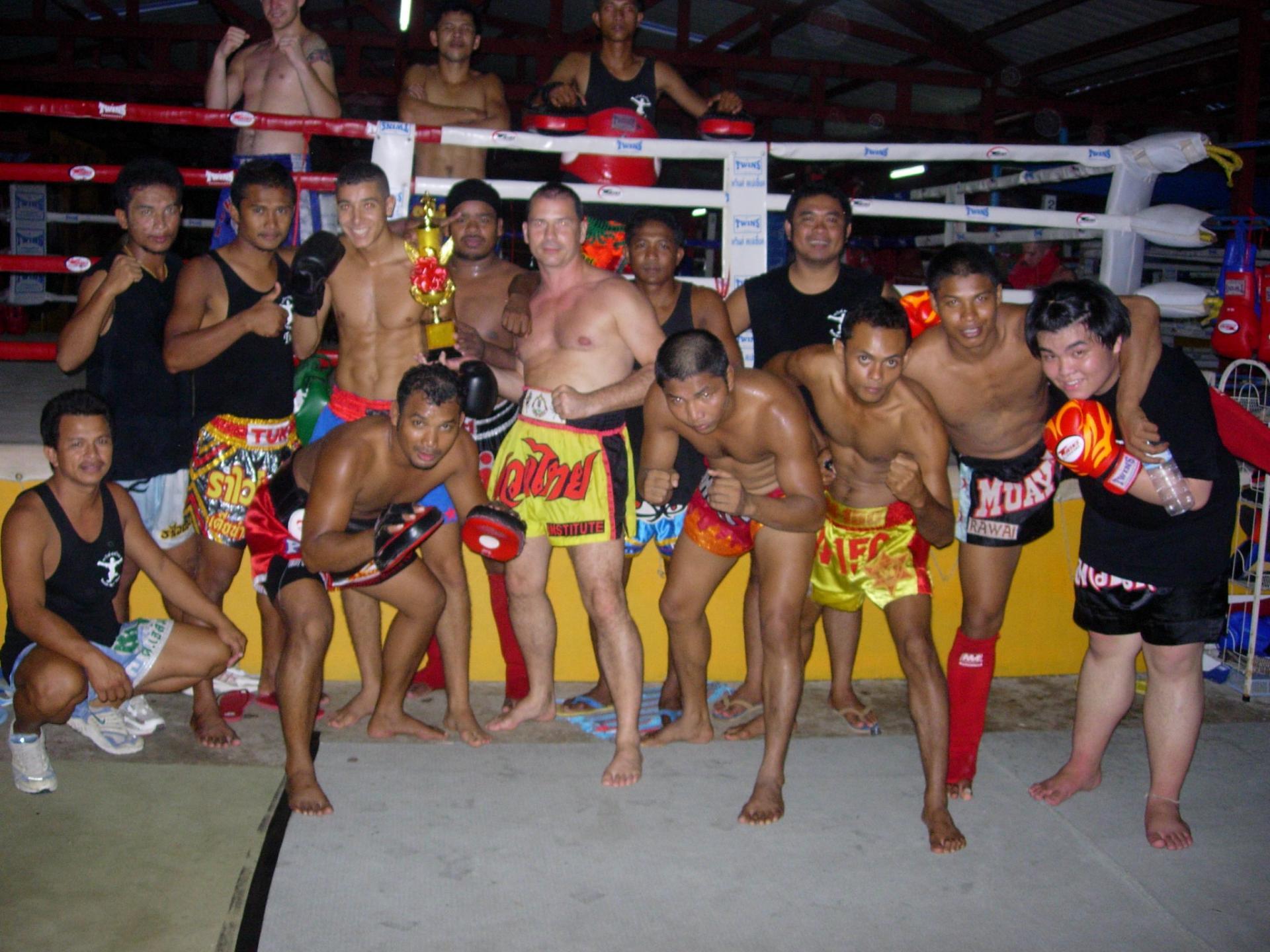 Victoire  de mon stagiaire (Rawai Muaythai Camp)