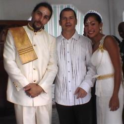 Témoin au mariage de David ISMALONE et Ying JULALUKE (2006)