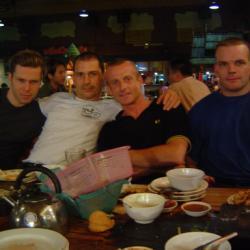 Avec amis du Muaythai Institute (Bangkok)
