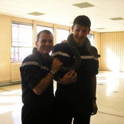 Sapeur pompier Volontaire intégré en équipe professionnelle (5 ans au SDIS 63: CSP Clermont et SDIS 34)