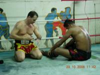 Préparation combat de Boxe thaï  (Bangkok)